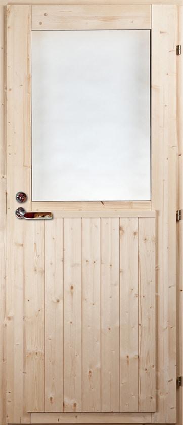 Välisuks Mänd/Kuusk (aknaga)