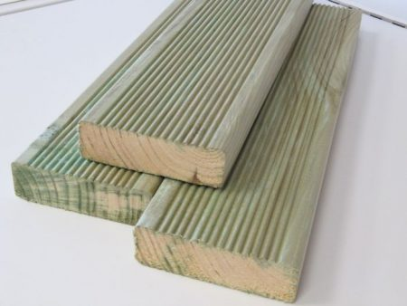 Terrassilauad 28x120x5100 roheline immutatud